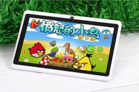 Allwinner dual core Pas Cher-Q88 7 pouces tablettes bon marché Tablet PC Android 4,4 phable ALLwinner A33 Quade Core comprimés double caméra 8 Go 512 Mo bluetooth capacitif wifi