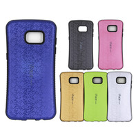 Wholesale Cover Galaxy S4 Gold - For Samsung S7 Edge plus Cell phone case cover s Galaxy 2 IN 1 S3 S4 S5 S6 S6 Edge Plus Active Iface Korea style Cute Hybrid 3D Shell Bling