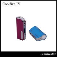 kit de fogo fresco innokin venda por atacado-2015 Innokin CoolFire IV 40 W Bateria Mod Cool Fire IV Kit Expresso 2000mah Innokin Coolfire 4 Com Tela OLED