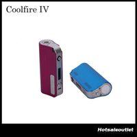 ingrosso kit di fuoco cool di innokin-2015 Innokin CoolFire IV 40W Batteria Mod Cool Fire IV Express Kit 2000mah Innokin Coolfire 4 Con schermo OLED