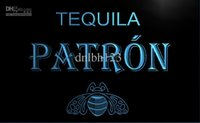 Wholesale Tequila Bar Signs - LE143-TM Tequila Patron Bar Pub Beer Neon Light Sign. Advertising. led panel