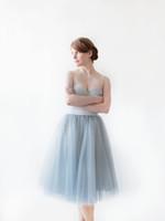 tanzkleidung für frauen großhandel-Luxus, aber günstige Frauen knielangen Tüllröcke Tanz Puffy Tutu Custom Made Tutu Röcke für Gilrs Fashion Bridal Clothing