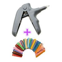 Wholesale Dental Gun - New 1 bag Dental Ligature Ties (936 pcs Bag) and 1 set Orthodontic Ligature Gun Dispenser Dental product Free Shipping
