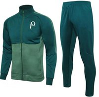 Wholesale Training Suits For Men - 2016 Sale Wholesale Soccer Tracksuit for Palmeiras Top Aaa Quality Long Sleeve Training Suit Pants Football Clothes Sports Wear Mens Sweater