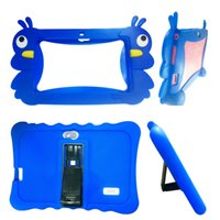 Wholesale Mid Android Orange - Soft Silicone Cover Case for 7 inch Android Capacitive A33 Q88 mid Tablet PC 100PC DHL