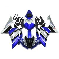 Wholesale Silver R6 Fairings - Motorcycle Complete Fairing Kits For Yamaha YZF-600 R6 08-15 YZF-R6 2008 2009 2010 2012 2013 2014 2015 ABS Bodywork Blue Silver Carene