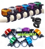 Wholesale 1200pcs Bike Frame Mini Metal Ring Handlebar Bell Sound Horn Horns for Bike Bicycle Cycling