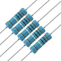 ingrosso resistori liberi-Il migliore prezzo all'ingrosso 50pcs resistore Pack 2.2 ohm 2W metallo resistore Resistenza 1% 2.2 ohm Kit fai da te spedizione gratuita