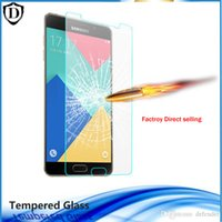 Wholesale Galaxy Note2 Box - New tempered glass for Samsung Galaxy Note7 S7 S6 S5 S4 S3 Note2 3 4 5 Screen Protector film without retail box