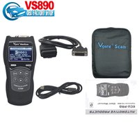 Wholesale Cheap Obd2 Scanner - Wholesale-2016 Top- Rated new arrival Cheap Vgate Scantool Maxiscan VS890 OBD2 Code Scanner VS890 Vgate Maxiscan VS 890 Free Shipping