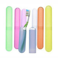 New Arrive Trendy Travel Hiking Camping Toothbrush Protect Holder Case Box Tube Cover