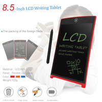 Wholesale Mini Lcd Boards - Portable Digital Mini LCD Writing Screen Tablet 8.5'' 9.7'' 12'' Drawing Board Panel for Adults Kids Children+Touch Pen Button Battery Power