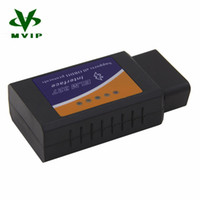 Barato Elm327 V Interface-Wholesale-Hot Sale ELM 327 V 1,5 BT funciona em Android Torque ELM327 Bluetooth V1.5 interface OBD2 / OBD II Auto Car Diagnostic-Scanner