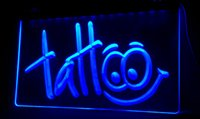 Wholesale Shop Tattoos - LS054-b Tattoo Body Inked Shop Neon Light Sign