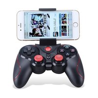Wholesale android tablet bluetooth controller resale online - S5 Wireless Bluetooth Gamepad Game Controller for Iphone IOS for Android and for IOS Platform Cell Phone smartphone tablet