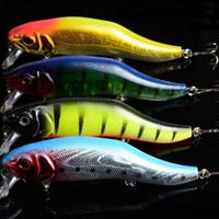 """Wholesale Minnows 12cm - 1pcs 4 Colour Minnow Fishing Lures Bass Crankbait Hooks Tackle Crank Baits 3D Eyes fishing lure 24.5g 12cm  4.72"""""""