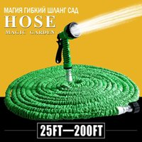 Wholesale Hot Selling FT FT Garden Hose Expandable Magic Flexible Water Hose Green Hose Plastic Hoses Pipe With Spray Gun To Watering