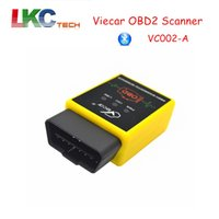 Wholesale Diagnostic Usa - Wholesale- High Qualit VIECAR VC002-A with 9 OBDII Protocols Support USA Cars Auto OBD2 Diagnostic Interface Viecar Car Code Reader Scanner