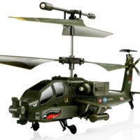Wholesale Rc Apache - SYMA S109G Mini 3.5CH RC Helicopter Boeing AH-64 Apache Helicopter Gunships Simulation Indoor Radio Remote Control Toys for Gift