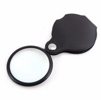 10x Hand-Hold Monocle Magnifier Magnifier Vetro pieghevole gioielli portatile Loop Loupe Watch Repair Tool nuovo