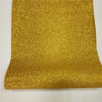 Wholesale China House - China factory manufacture glitter pu wallpaper