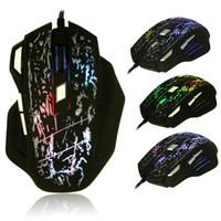 fare oyuncusu toptan satış-3200 DPI 7 Düğmeler LED Optik USB Kablolu Oyun Fare Fareler Için Pro Oyun MOUSE H210517