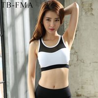 Laufende Yoga-BH-Fitness-Studio-Weste Frauen crop top Ärmelloses Yoga-Shirt backless Wireless Trocken Fit Tanktops für den Lauf Fitness