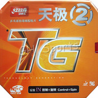 Wholesale Dhs Neo Rubber - Wholesale-DHS NEO Skyline TG 2 (Control + Spin) Pips-In Table Tennis (PingPong) Rubber With Sponge