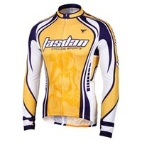 Wholesale biker clothes online - Tasdan Cycling Jersey Mens Cycling Suits Long Sleeve Jersey Sports Bike Riding Clothes Cycling Wear for Bikers