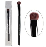 Wholesale Horse Hair Wholesale - E.l.f. Brand Professional Eyeshadow Brushes Elf Studio Single Black Eye Shadow Makeup Brush Cosmetic Tool Kits with Horse Hair Wood Handle
