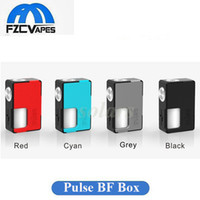 Wholesale Pulse Batteries - Authentic VandyVape Pulse BF Box Mod Unregulated Mechanical Squonk Mod 18650 20700 Battery Compatible Vape Mod 100% Original