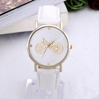 Wholesale Cheap Women Wrist Watches - Newest Hot Brand GENEVA watch Fashion womens clock wrist watch Bicycle cheap watches Women Alloy Gold Dial student Quartz watch