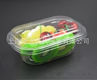 Wholesale disposable packing box online - Disposable Lunch Box Multi Function Salad Lunch Snack Pack Boxes Clean Sanitation Anti Fog Hot Sell zq R