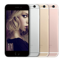 Wholesale 3d Iphone Accessories - Black Touch ID Apple iPhone 6s 3D Touch 4G LTE IOS 10 4.7 inch Retina HD 2GB 64GB Dual Core A9+M9 FaceTime iCould Apple Pay NFC Smartphone