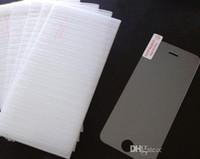 écran pour 4s achat en gros de-Protecteur d'écran en verre trempé pour iPhone 7 6S Plus 5S 4S Samsung Galaxy S7 S6 S5 Note 5 LG G5 Sans Paquet