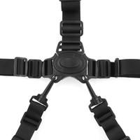 emniyet kemeri toptan satış-Arrivla Uygun 5-Point Demeti Bebek Sandalyesi Arabası Pram Buggy Çocuklar için Güvenli Kemer Kayışı Rastgele