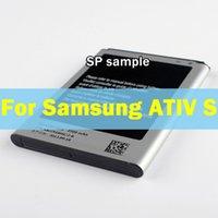 Wholesale Ativ S Battery - For Samsung GALAXY ATIV S i8750 i8370 i8790 EB-L1M1NLU 2330mAh New Replacement Li-ion Battery Batterie Batteria Akku