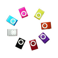 Wholesale mini clip mp3 player without screen resale online - Mini Clip MP3 Player without Screen Support Micro TF SD Card GB Cheap Sport Style MP3 Metal MP3 MP3 MP4 Players w Retail Box