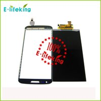 Wholesale White Lg G2 - Black & white Hotest Sell LCD For LG G2 Display Touch Screen Digitizer Assembly Replacement with free shipping