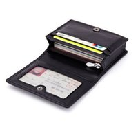 Wholesale Organizer Banks - wholesale 2018 new Woven bag hand-woven lambskin wallet bank card package unisex card holder
