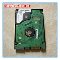 Wholesale Star Tester - 2014.12 Version C3 HDD For MB Star C3 Software for MB Auto Diagnostic Tool Promotion Free Shipping