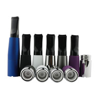 Wholesale Dry Herb Vaporizers Ego - Wax Dry Herb Skillet Atomizer with Plastic Tips Ceramic Donut Coils 510 Wax Atomizer EGO Skillet Vaporizers e cigarettes