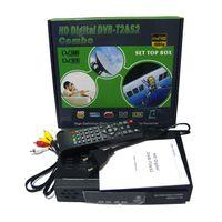 Wholesale Dvb Combo - DVB-T2+DVB-S2 Digital Satellite Receiver Combo DVB T2 S2 HD 1080P Set Top Box H.264   MPEG-2 4 For Russia Europe Market