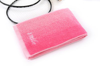 Wholesale Cheap Hand Face Towels - Free Shipping Cheap Yellow Pink Towel Manufacturers, Wholesale 35 * 120 Gradient 150 Gram Thick Towels Fitness Lengthened Sports HY1254