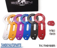 Wholesale Benen Rear Tow Hook - Hot-selling BENEN-0185 Billet Aluminum Anodized Universal Rear Tow Hook (red,blue,black,silver,golden,purple) TK-TH0185R