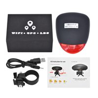 Wholesale tracking phones free for sale – best K9 Bike Waterproof GPS Tracker Anti theft Taillight Bike Tracking Device Long Standby with LED Lights Free Web Page APP Tracking