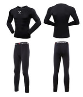 Wholesale Outdoor Thermal Underwear - 2017 Men\'S Outdoor Sport Hot-Dry Technology Surface Bicycle Skiing Winter Warm Long Jersey Set & Fitness Thermal Underwear Fleece