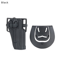 Wholesale Thigh Pistol - New Arrival Tactical 1911 Holster Pistol Thigh Holster of Polymer   Handgun Leg Holster without Platform CL7-0004