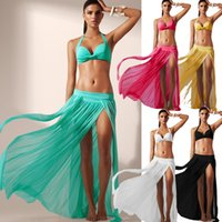 Wholesale Stretch Beach Skirts - Ropa de mujer tulle skirt women sexy stretch net yarn beach skirts kawaii vestidos de fiesta china clothes bikini blouse(excluding bikini)