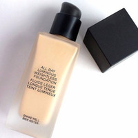 Wholesale N Skin - 6 Colors N S All Day Luminous Weightless Foundation N S Cosmetics Makeup Base 30 ml Famous Brand